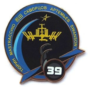 Expedition 39 Mission Pin