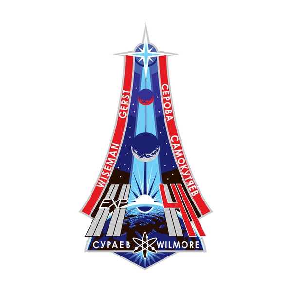 Expedition Mission 41 Lapel Pin