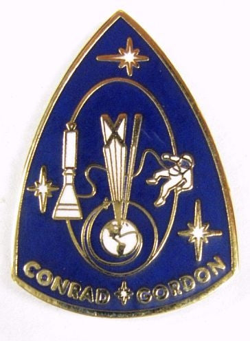 Gemini XI Mission Lapel Pin - The Space Store