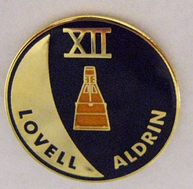 Gemini XII Mission Lapel Pin
