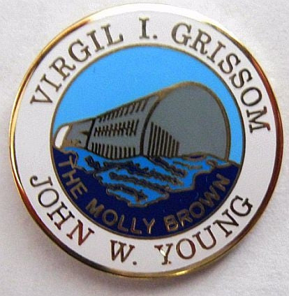 Gemini 3 Mission Lapel Pin