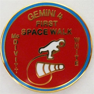 Gemini 4 Mission Lapel Pin - The Space Store