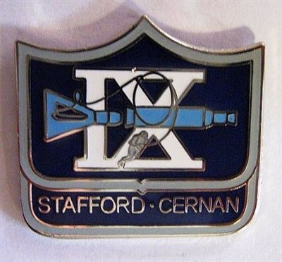 Gemini 9 Mission Lapel Pin - The Space Store