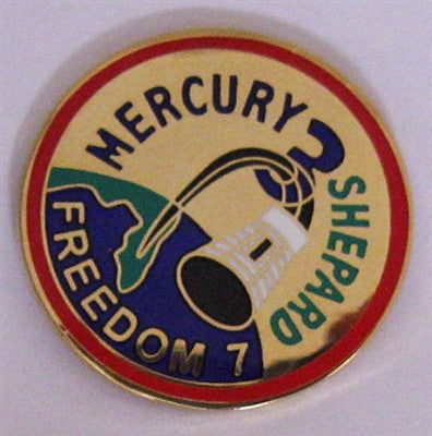Mercury 3 Mission Lapel Pin