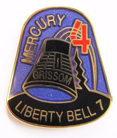 Mercury 4 Mission Lapel Pin