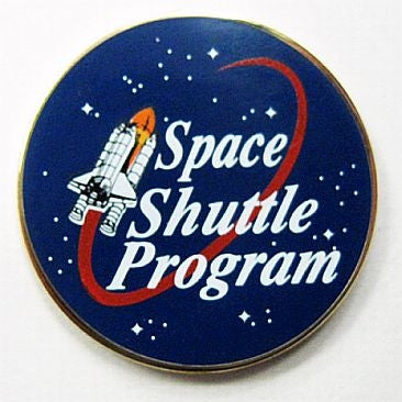 Space Shuttle Program Pin - Authorized by NASA