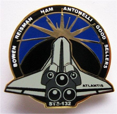 STS-132 Mission Lapel Pin