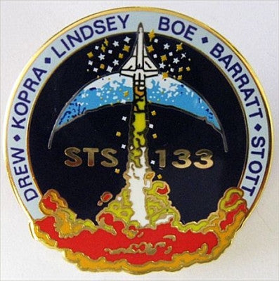 STS-133 Mission Lapel Pin