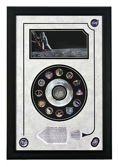 Celebrate Apollo Program Commemorative Frame Set