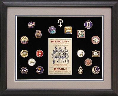 Mercury & Gemini Missions Pin Set