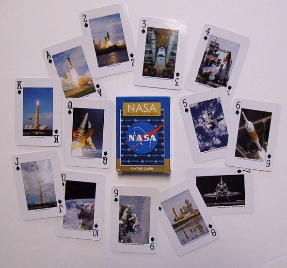 NASA Exploration Playing Cards