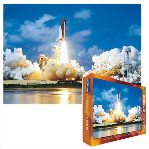 Space Shuttle Atlantis Lift-Off  1000 piece puzzle