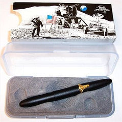 Bullet Pen Black with Space Shuttle