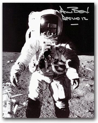 Autographed Photo - Alan Bean Frontal