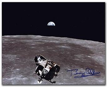 Autographed Photo - Buzz Aldrin - Ascent