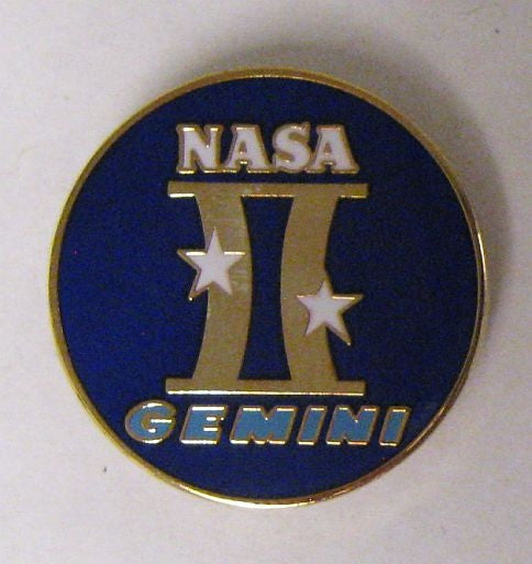 Project Gemini Lapel Pin - The Space Store