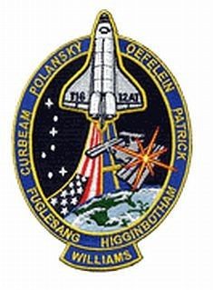 STS-116 Mission Pin