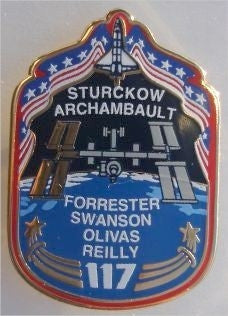 STS-117 Mission Pin - The Space Store