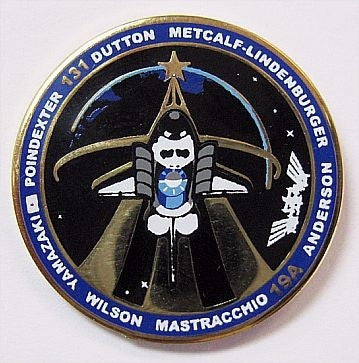 STS-131 Mission Lapel Pin