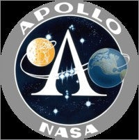 Apollo Program Lapel Pin