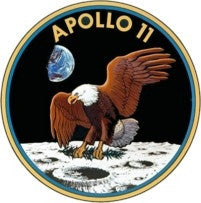 Apollo 11 Mission Lapel Pin - The Space Store