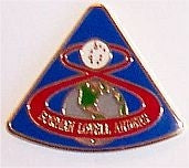 Apollo 8 Mission Lapel Pin - The Space Store