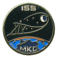 Expedition 14 Mission Lapel Pin