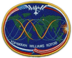 Expedition 15 Mission Lapel Pin
