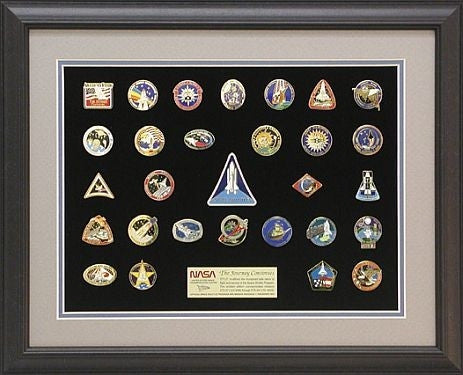 Shuttle Mission Pin Set  #2