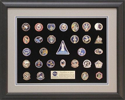 Shuttle Mission Pinset  #4