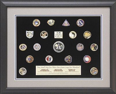 Apollo/Soyuz/Skylab Missions Pin Set - The Space Store