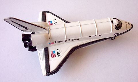 Pullback Die Cast Space Shuttle (Large) - The Space Store