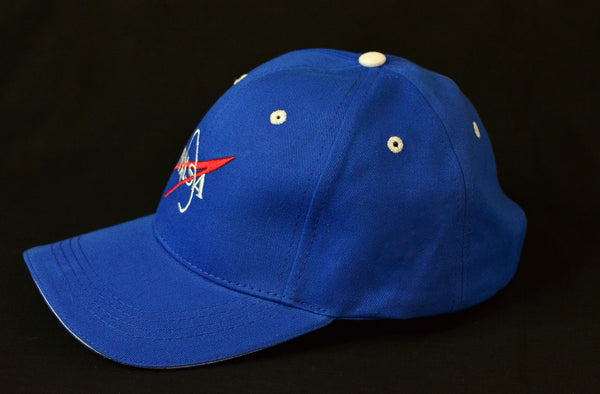 NASA Vector Logo 'Baseball Hat' in Royal Blue