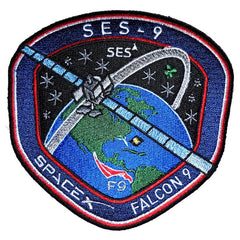 F9 SES-9 MISSION PATCH
