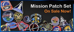 SPACE SHUTTLE MISSIONS PATCH SET - INCLUDES ALL 135 MISSION PATCHES
