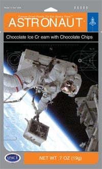 Astronaut Double Chocolate Ice Cream