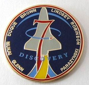 STS-95 Mission Lapel Pin