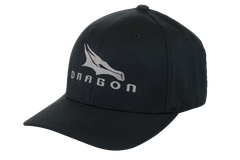 SPACEX Dragon Cap - Flexfit cap in S/M and L/XL in Black