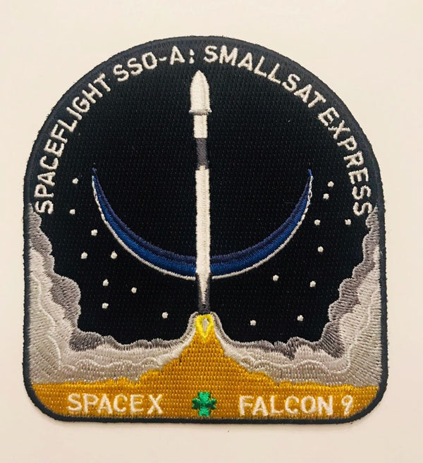 SPACEX SPACEFLIGHT SSO-A: SMALLSAT EXPRESS MISSION PATCH - The Space Store