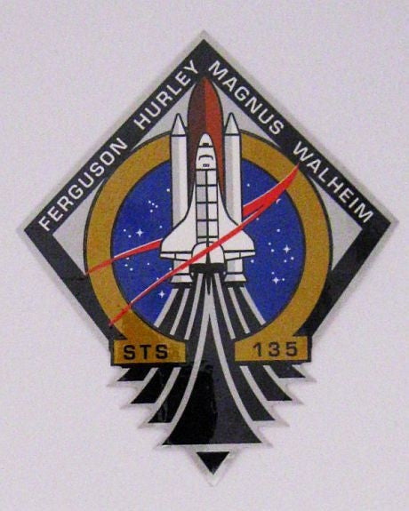 STS-135 Mission Sticker