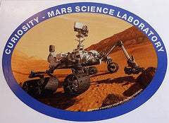 Mars Curiosity Rover Decal