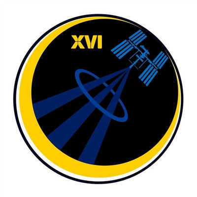 Expedition Mission 16 Sticker - The Space Store