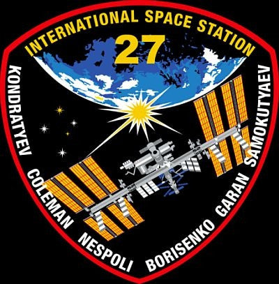 "Expedition 27 Mission 4"" Sticker"