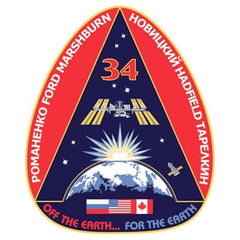 Expedition 34 Mission Sticker