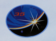 Expedition 35 Mission Sticker