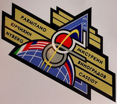 Expedition 36 Mission Sticker (with names)