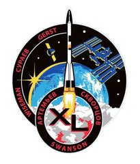 Expedition 40 Sticker