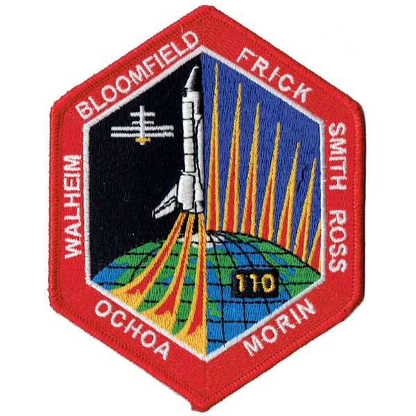 STS-110 Mission Patch