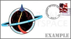 STS-114 Launch/Landing Postmarked Envelope (cover)