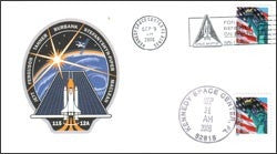 STS-115 Launch/Landing Postmarked Envelope (cover) - The Space Store